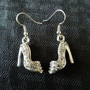 Rhinestone Stiletto Earrings